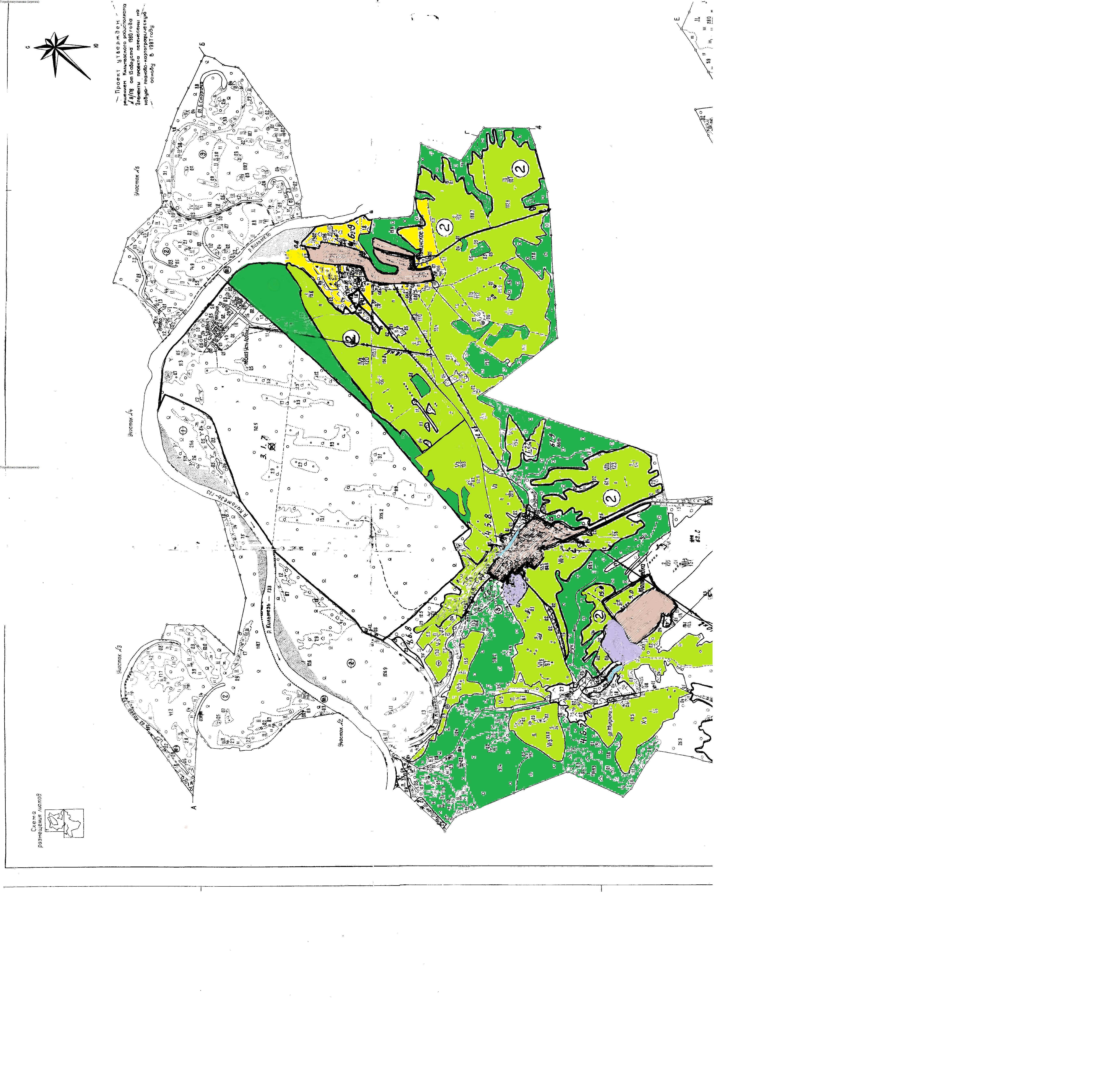 карта МО